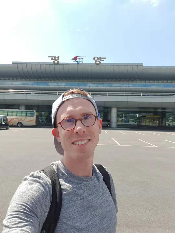 Pyongyang International Airport Fnj North Korea Ginger Around